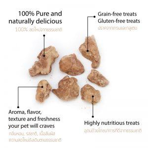 Freeze dried cat food